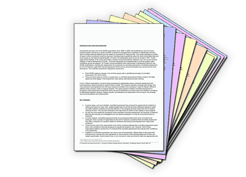 Ideas political science research papers